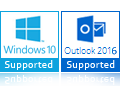 Win10 and Outlook 2016